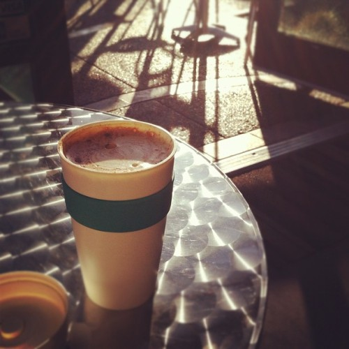 good morning. (at Lofty Bean Coffee Bar)