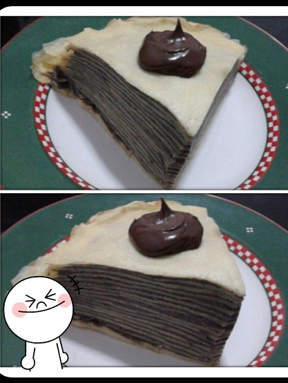 Homemade : Chocolate Oreo Mille Crêpe by Vinka!