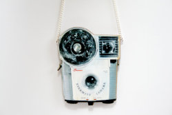 A Brownie Camera Necklace is very Whimsical ~ La