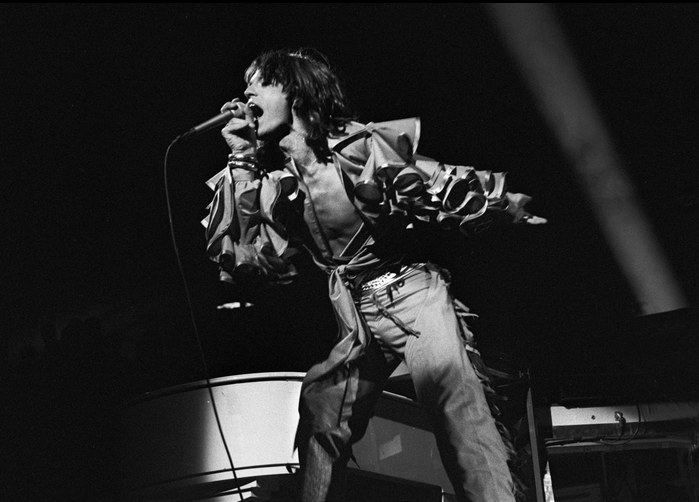 MICK JAGGER newsweek:  Fifty years of Mick.