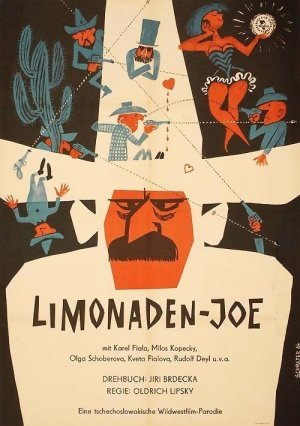 German poster for Lemonade Joe (1964).