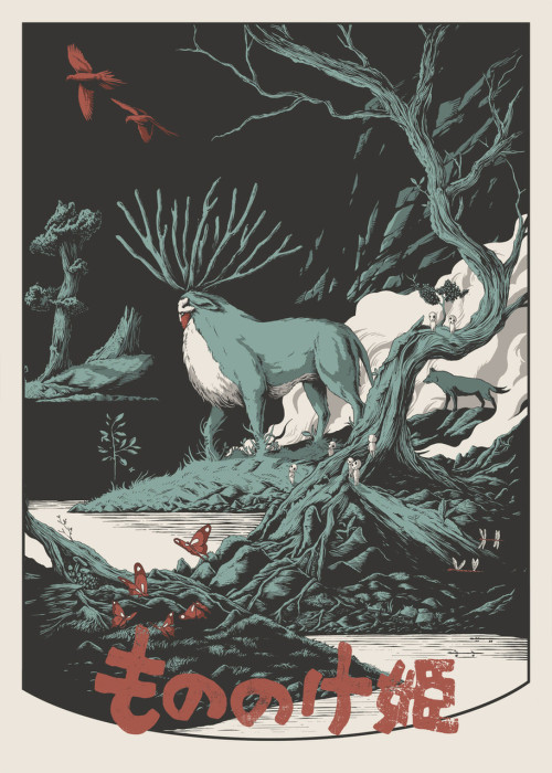leftfootforward:  Princess Mononoke