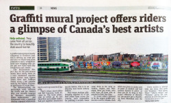 The Reclamation Project in The Metro Newspaper