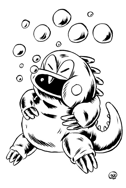 Day 4: Bub (or Bob) from Bubble Bobble