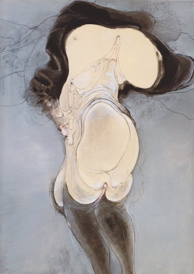 Hans Bellmer - Intertwined People (1936)