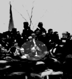 It Happened on this Day: 19 November 1863: Abraham Lincoln gives what will be known as the Gettysburg Address during the dedication ceremony at the Soldiers' National Cemetery. This is maybe the most important speech in American history, at least one of the most well known, and has had a profound impact on American social, popular, and political culture.