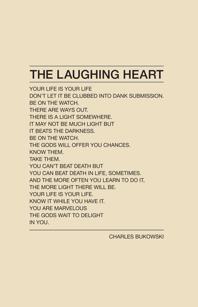 tragedys-parody:  looks like Im on a Bukowski binge this morning..  looove.