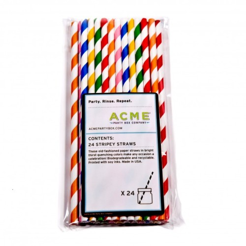 ITEM OF THE DAY: ITEM OF THE DAY: ACME'S STRIPEY STRAWSby Heather Taylor http://bit.ly/U4CFc9