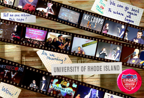 """URI Show Collage - hitRECord On The Road"" REmix by norskkk == Contribute your RECords from the URI show HERE!"