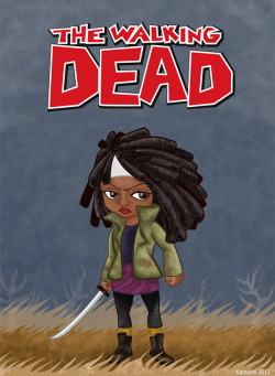fuckyeahmichonne:  By ~Kachu80 on DeviantArt.