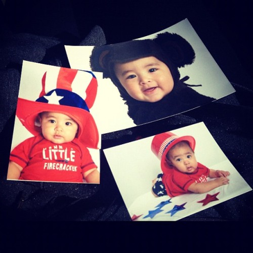 My baby cousins pictures came in. Ryan 😍 Asian baby💙 @2jasmin2