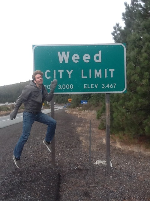 vodkaismyextracurricularactivity:  Well, Weed is a pretty high place.