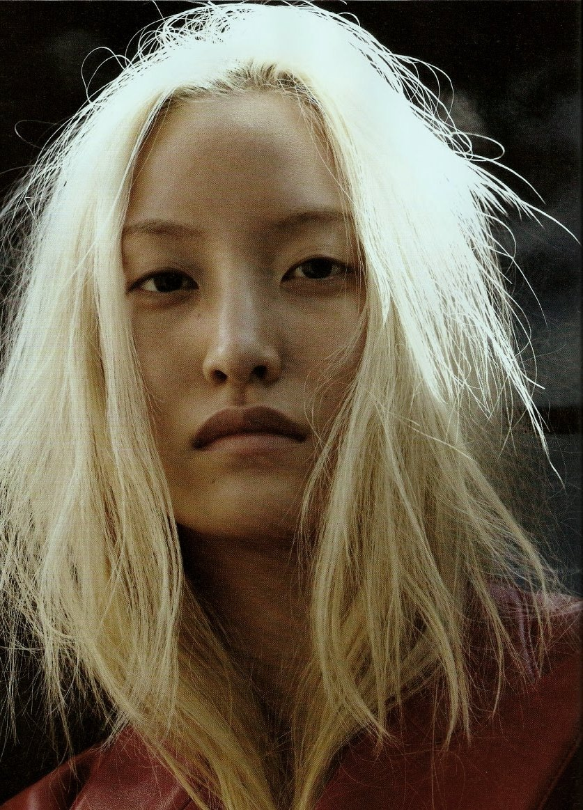 "pradaphne:  Daul Kim in ""Dirty Diana"", photographed by Will Davidson for i-D Fall/Winter 2009.  R.I.P. beautiful."