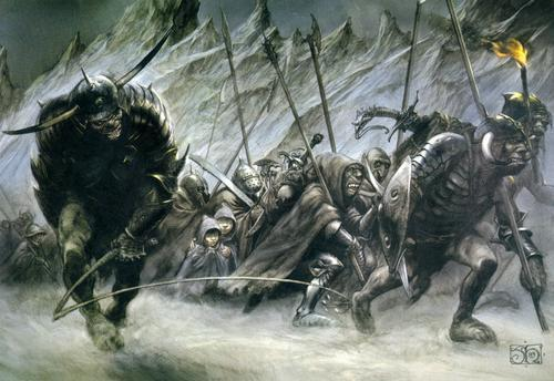 They couldn't recruit enough men in the 6 foot height area to play Uruk'hai so men from 5 foot high were cast as well. They were affectionately nicknamed the Uruk'Low.