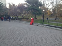 catswearmittens:  you're not in Elmo's world anymorethis is the real world