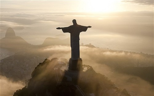 Christ The Redeemer Regardless of your personal beliefs, you can't help by admire the sense of calm and peace this landmark brings as it watches over the city of Rio de Janeiro. Just Perfect!