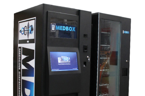 Are Medical Marijuana Vending Machines On Their Way?  What are the odds that there will be snack machines all around this thing?