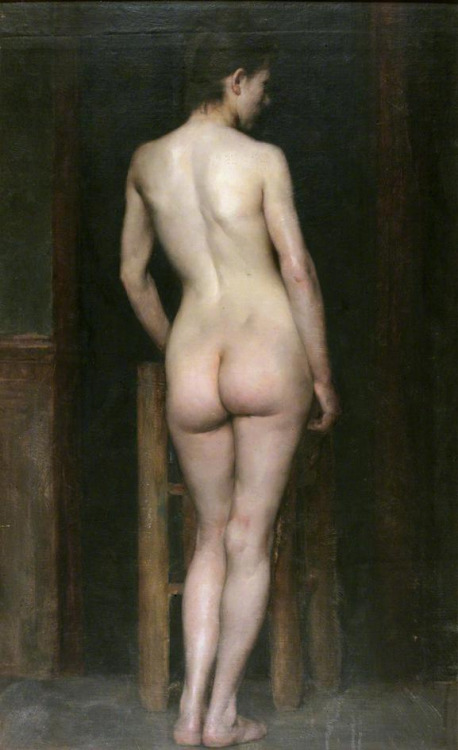 pmikos:   Richard Jack  Female nude, c. 1886-1888    (by hauk sven)