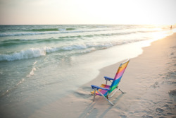 Empty chair. Grayton Beach, Florida.
