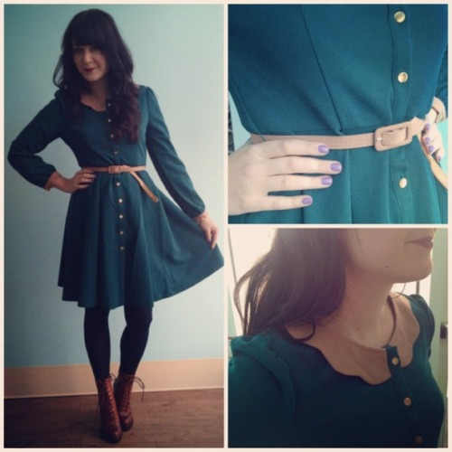 Last Friday's sneak peek item, the Toasted Apple and Sage Dress, is one of my all-time favorites! Posted to our Facebook page each Friday, this feature allows you to see adorable new items before they hit the site. <3 Jess, ModStylist Need styling suggestions, trend tips, or dress details? Ask a ModStylist and your question might be featured on our feed!