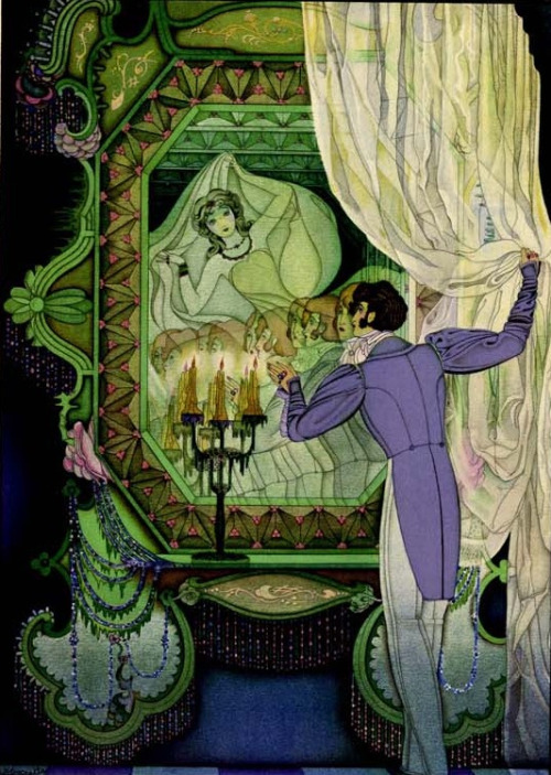 Tales of Hoffmann illustrated by Mario Laboccetta.