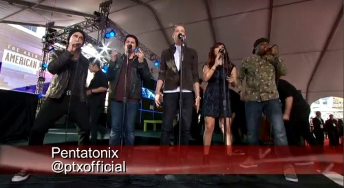 ptxblog:Pentatonix performs at the American Music AwardsThrowback to PTX performing on the Coca-Cola Red Carpet at the AMA&#8217s 2 years ago! Don&#8217t miss them presenting tonight at 8PM EST on ABC.