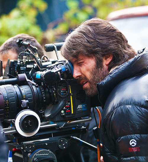 Ben Affleck on the set of Argo (2012)   Gotta see this movie