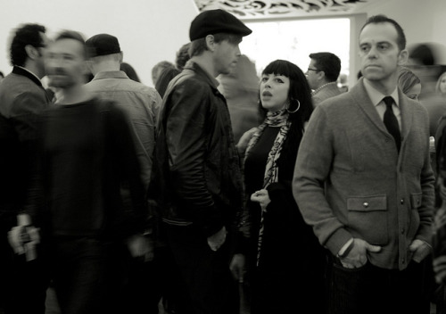 L1106666 on Flickr.Crowd at art opening Cindy Sherman Opening Walker Art Center Minneapolis. November, 2012 Leica M8 40mm Nokton
