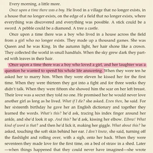 peonies-andtea:  frexshh:  rosalogie:  Aww  omg what book?  This is the sweetest thing