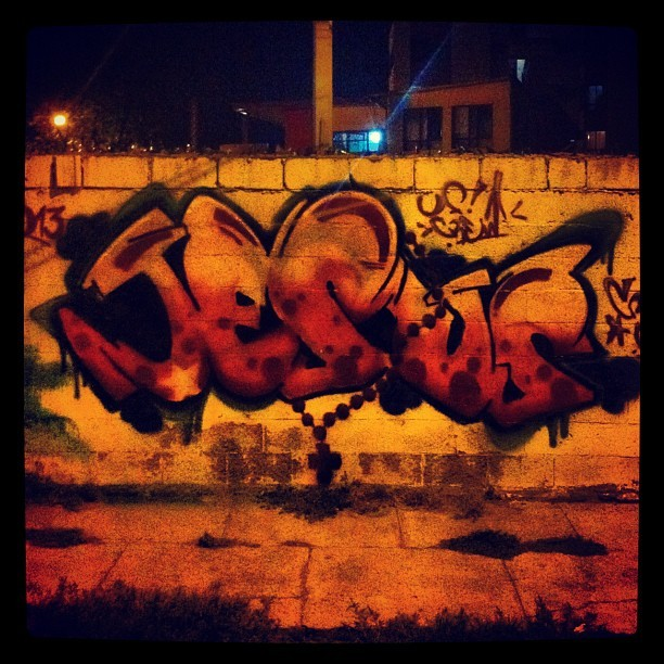 Jhoel using his art skills for the Kingdom. #graffiti