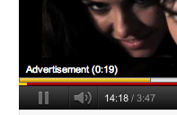 UI Faux Pas: Youtube. Looks like there's a bug in the embedded player's timeline. When I chose to play another video from the end-screen of a previous one, the timeline registered the start-time of the next video as the end-time of the previous one.  It did this until the advertisement was finished.