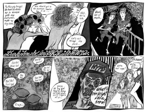 Dark Tomato #2 previewed in The Brooklyn Rail. Also, Sakura has a major story in the current TIN HOUSE.