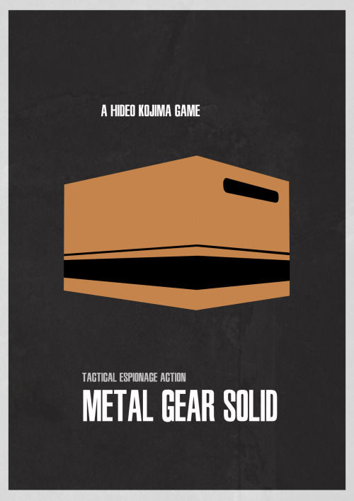 geeksngamers:  Metal Gear Solid - Submitted by sigitmenulis