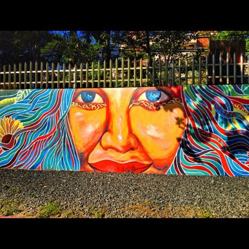 #Woman #Rebirth #wallart #mural #art #graffiti #overlap #paint #instagram #revisited