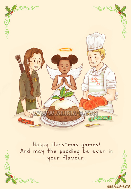 Happy Christmas Games!You can buy this Christmas card at Red Bubble, here! Part of my fandom Christmas Card series - you can see the rest on RedBubble here! Others include Star Wars, Doctor Who, Lord of the Rings, The Avengers and Harry Potter. Enjoy!