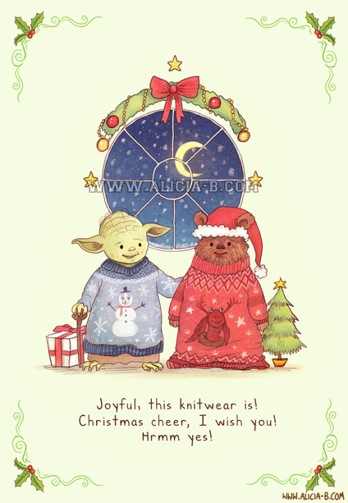 Hrrm, Christmas Jumpers, yes!You can buy this Christmas card at Red Bubble, here! Part of my fandom Christmas Card series - you can see the rest on RedBubble here! Others include The Hunger Games, Doctor Who, Lord of the Rings, The Avengers and Harry Potter. Enjoy!