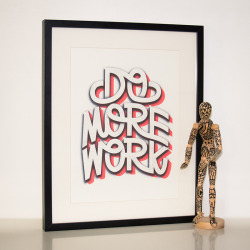 betype:  Do More Work (by Tim Easley)