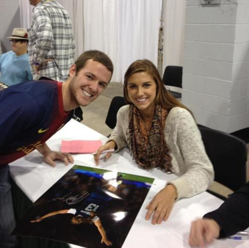 Met Alex Morgan Today!