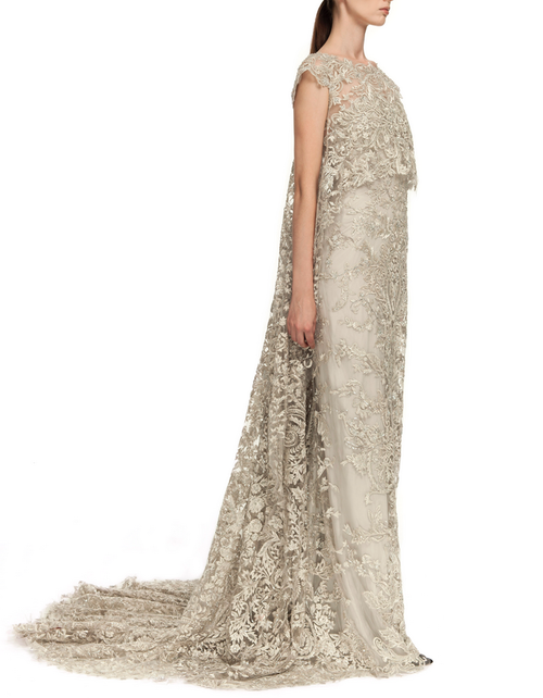 Myrish lace wedding gown for Jeyne Westerling, Marchesa
