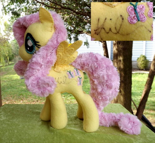 http://www.ebay.com/itm/160925690013  And the Autographed Fluttershy is back up for another five days!  A portion of the proceeds (if she sells) will go to the Humane Society as a charitable donation (while eBay HAS an option to automatically do donations, they use a third party to handle those transactions, and that third party takes a 15% to 20% cut from the donation)