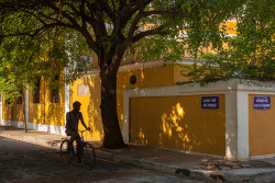 Streetcorner, Pondicherry on Flickr.