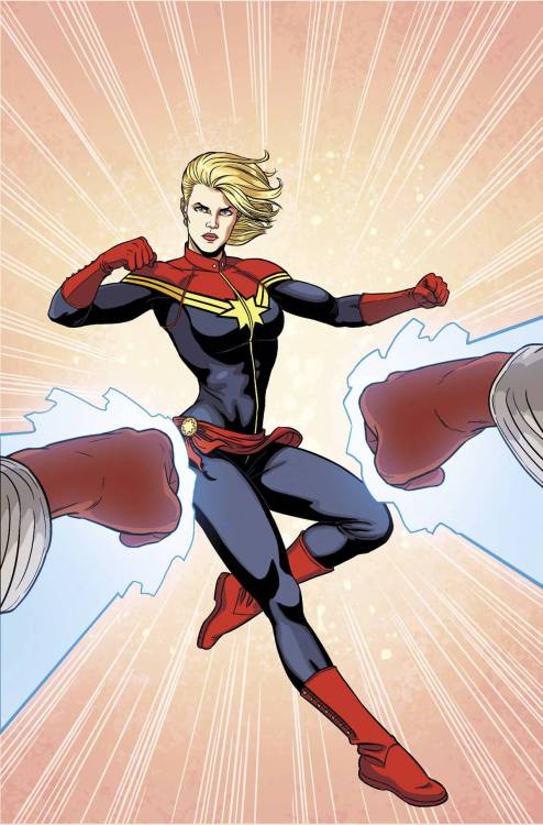 Market Monday Captain Marvel #7, written by Kelly Sue DeConnick  Captain Marvel goes head to head with… Captain Marvel? Former Captain, Monica Rambeau returns! But what's her problem with the Earth's Mightiest Hero? Find out why Captain Marvel is the most talked about series of the year!  ~Preview~