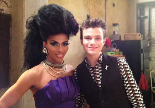afterelton:  In which Chris Colfer's hair didn't stand a chance.  Urgh I neither needed nor wanted a reason to have to watch this season of Glee. Y u do this Shangela.