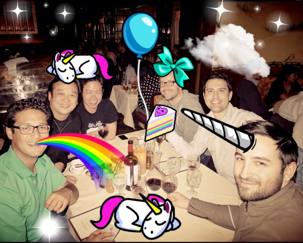 We had unicorn for dinner. It was delish.