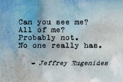 thepaintedbench:  Jeffrey Eugenides