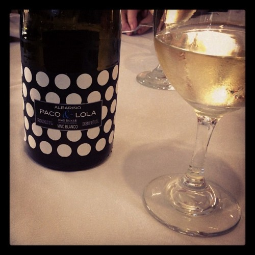 #paco y #lola #vino #wine #glass #bottle #design #label #black #white #beverage