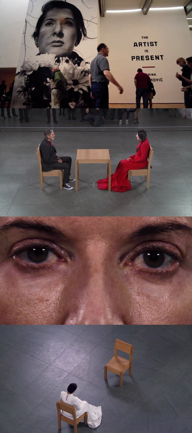 moviesinframes:  Marina Abramovic: The Artist is Present, 2012 (dir. Matthew Akers, Jeff Dupre) By isee-ilike
