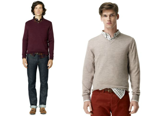 Club Monaco Sweaters for $30 (and Other Deals) As I mentioned earlier today, I think Club Monaco is one of the better places to score a decent sweater for not too much money. So long as you wait for their sales, anyway (at full retail, they're a bit pricey). Better still if you can stack the 20% off student discount.  Right now, Refinery29 is offering $100 store credit to Club Monaco for $50. I'm not sure if you can still combine that with the student discount, but at the very least, it puts some of their basic v-necks or cardigans at about $30 once you use the voucher. Really not a bad price. You can also use the voucher on their third-party brands, such as Ray Ban or 3Sixteen, or other some of their other items in the sale section.