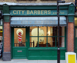 City Barbers, Newton Street WC1