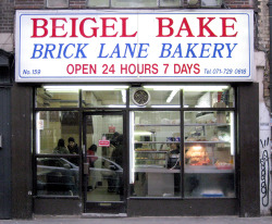 Beigel Bake, Brick Lane E2